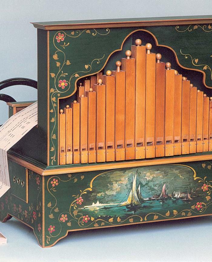36 touches à flûtes orgues odin