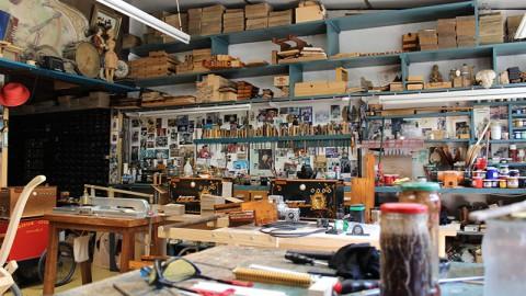 L'atelier de fabrication des orgues de barbarie Odin